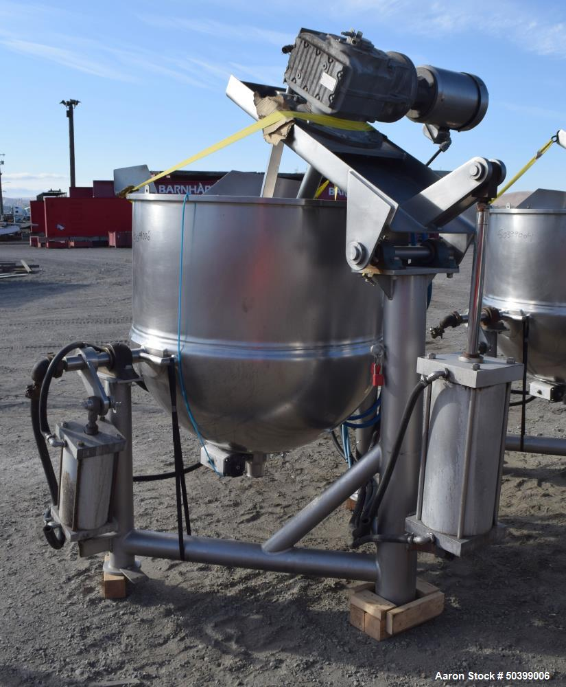 Used- Lee Industries Kettle,150 Gallon, Model 150DN/INA/2SP