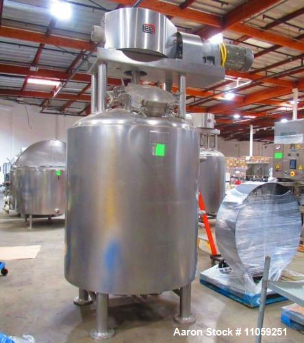 Used- 400 Gallon Lee Jacketed Mix Kettle