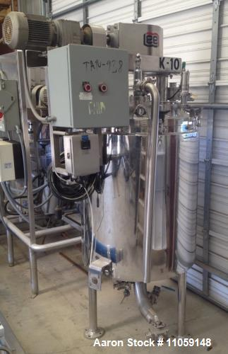Used- Lee Industries Double Motion Jacketed Mix Kettle, 100 Gallon