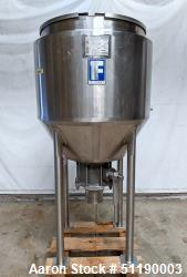 Used- Feldmeier 90 Gallon Jacketed Tank, Stainless Steel, Vertical.