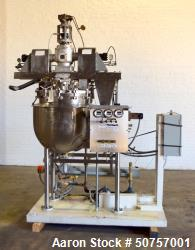 Used- Gifford-Wood AGI-Mixer, Model V/P-A, 40 Gallon