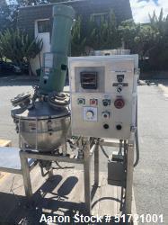Used- Groen 10 Gallon Vacuum Mix Kettle