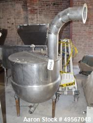 "Groen Kettle, 80 Gallon, Model N-80, Stainless Steel. Approximate 32"" diameter x 28"" deep, jacketed..."