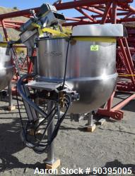 Used- Hamilton Style CW Tilting Kettle, 150 Gallon, 316 Stainless Steel