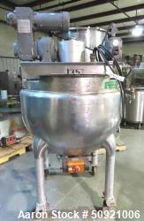 Used- Hamilton Double Motion Kettle, 100 Gallon