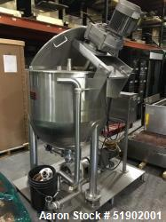 Used- Lee Industries 100 Gallon Stainless Steel Non Jacketed Kettle