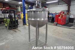 Used- Lee Industries Stainless Steel 150 Gallon Kettle