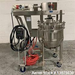 Used- 30 Gallon Lee Double Motion Vacuum Kettle