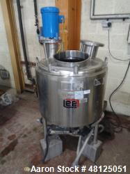 Used- LEE Industries Jacketed Mixing Vessel, 114 Liter (30 Gallon)