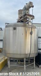 Used- Kettle, 2000 Gallon