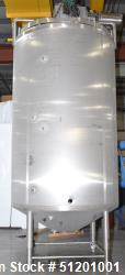 Used-W.M. Sprinkman, 2,800 gallon Sanitary Jacketed Agitated Processor.