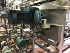 Used-BlenTech 1200 Gallon (160 Cu.Ft.) Jacketed Mixer/Cooker Kettle