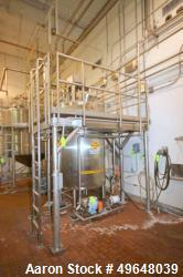 Used-2010 GPE 600 Gal. Stainless Steel Processor, Model # 600U79, National Board # 12038, MAWP 100 PSI @ 338 F, MDMT -20 F @...