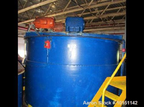 "Used-Tank, Approximately 7,000 Gallons, Stainless Steel, Jacketed, Vertical.  Approximately 120"" diameter x 144"" straight si..."