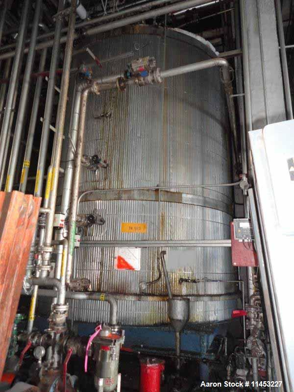 Used- 12,500 Gallon Stainless Steel Kettle
