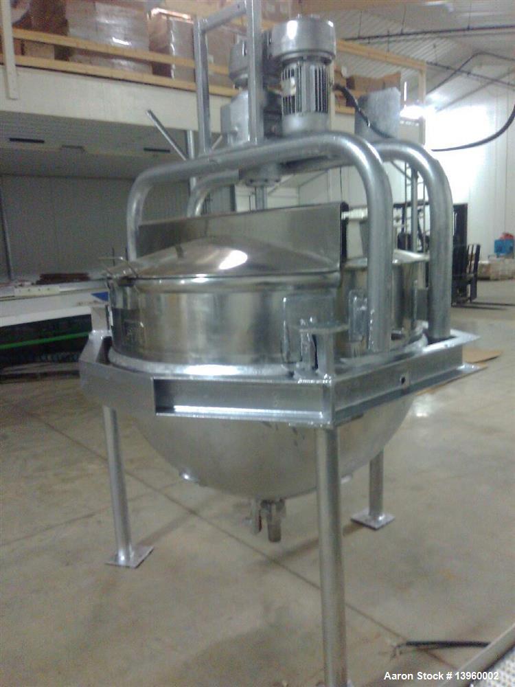 Used- Hobel 300 Gallon Scrape Surface Kettle