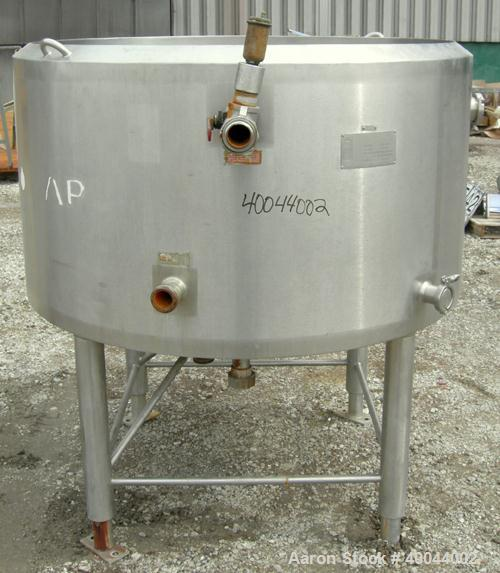 Used: 238 Gallon Stainless Steel APV Crepaco Kettle
