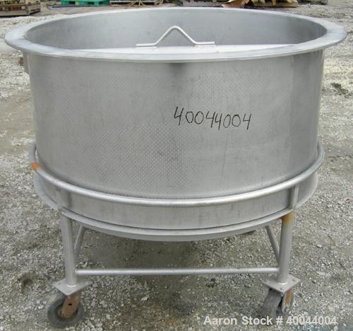 Used: Stainless Steel Perforated Basket for an APV Crepaco Kettle