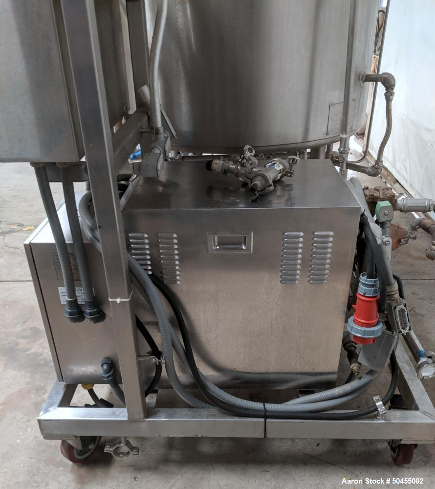 Used- GOE / AVINS 100 Gallon Self Contained Scraper Agitated Mixing Kettle Skid