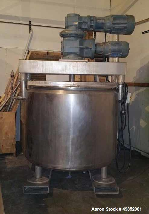 Used- 500 Gallon DCI Double Motion Jacketed Kettle/Tank