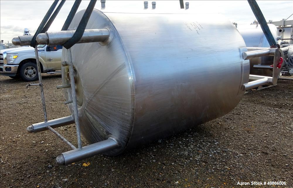 Used- Feldmeier Stainless Steel Double Motion Processor / Kettle, Approximately
