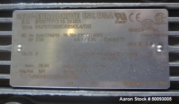 Used- Groen Twin Agitated Kettle, Model 250 SA, 250 Gallon