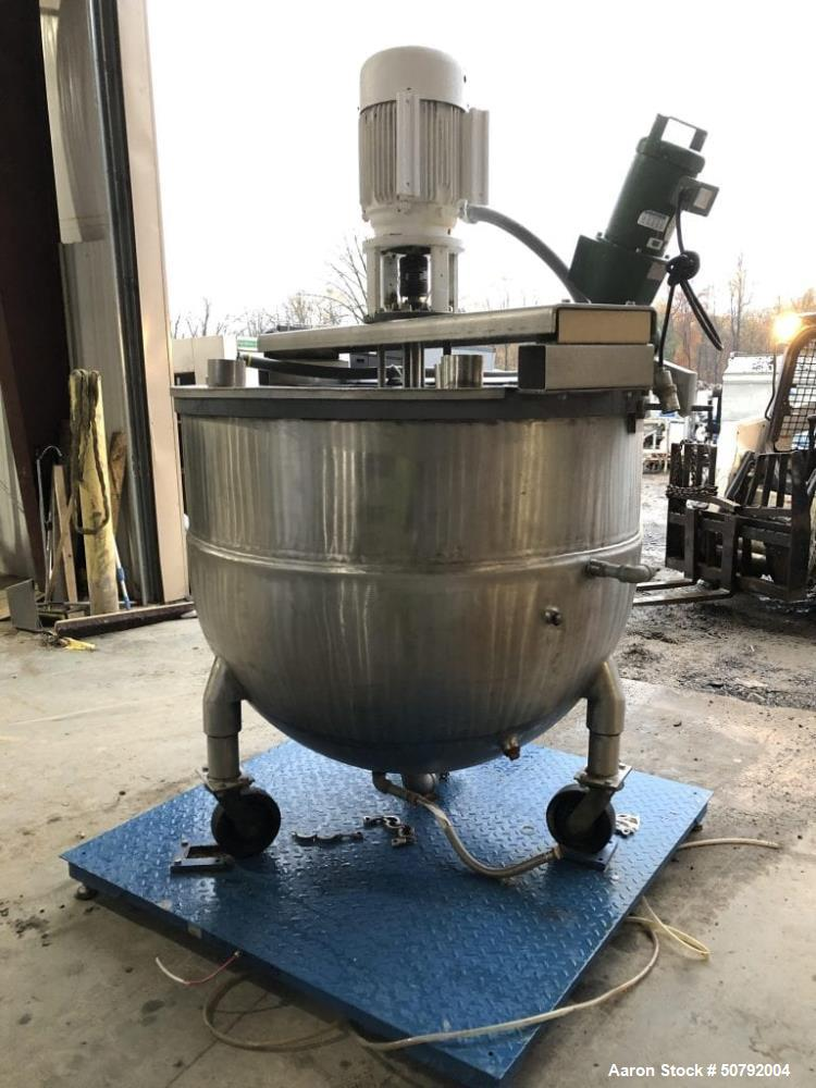 Used- Groen Steam Jacketed Mixer Kettle Tank