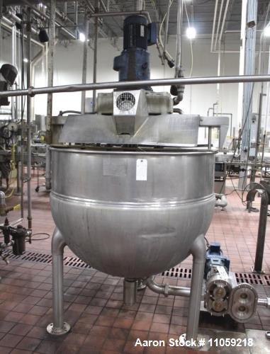 Used- Hamilton Jacketed Kettle, 250 Gallon