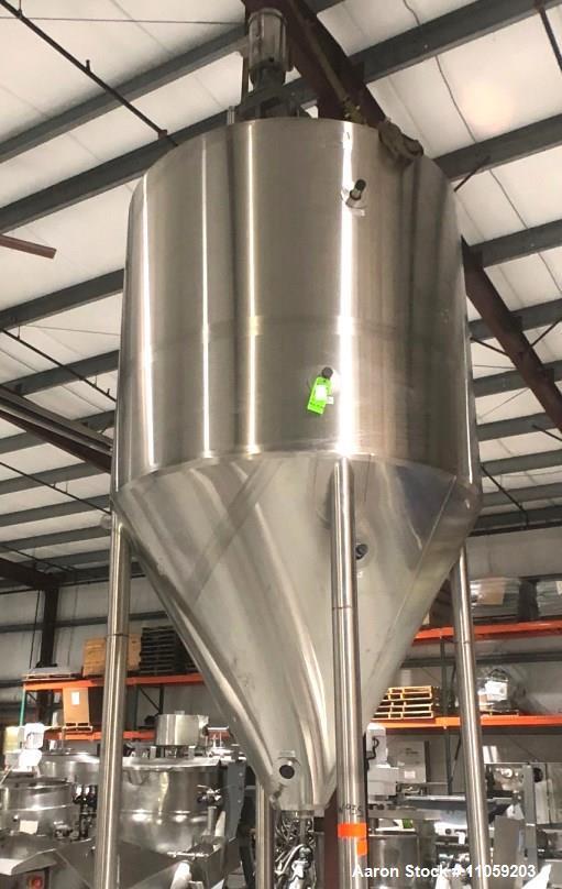 Unused- JV Northwest Cone Bottom Kettle / Processor.