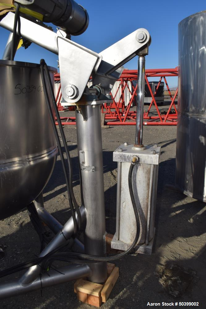 Used- Lee Industries Kettle, Model 150DN/INA/2SP, 150 Gallon