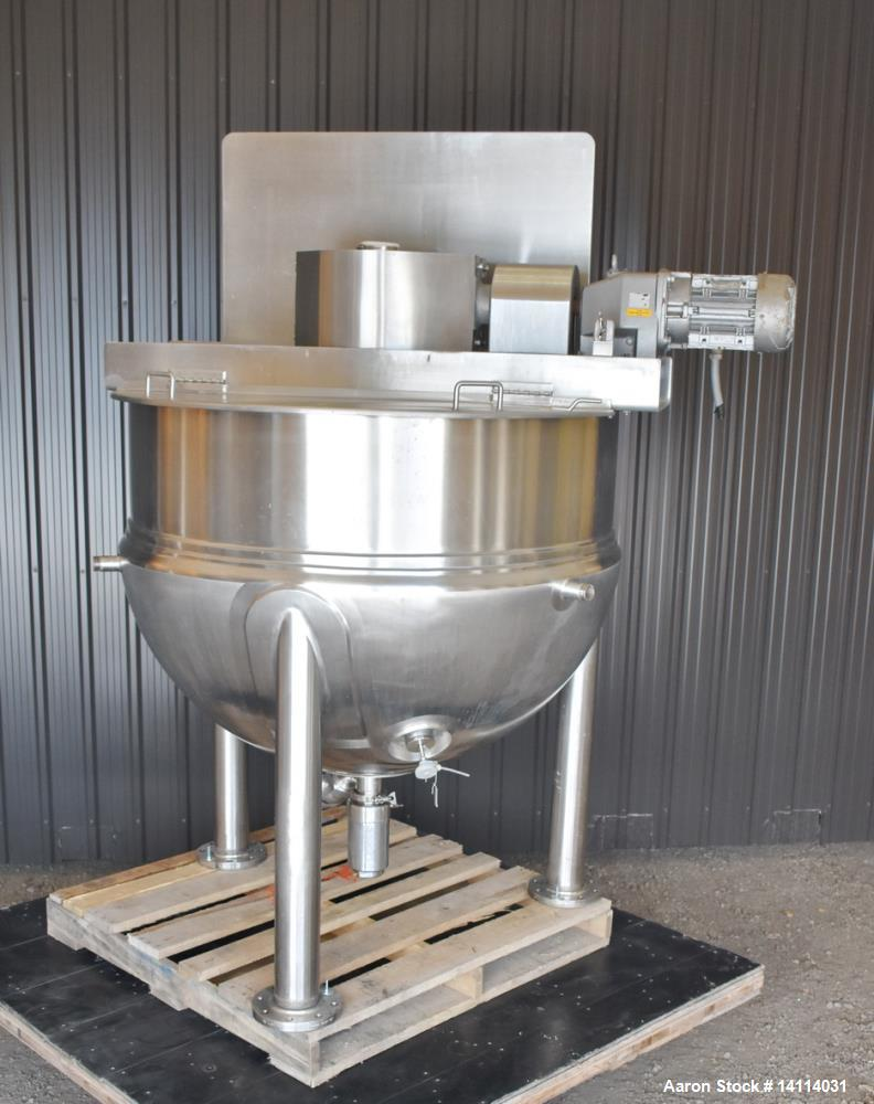 Used- 250 Gallon Lee Kettle