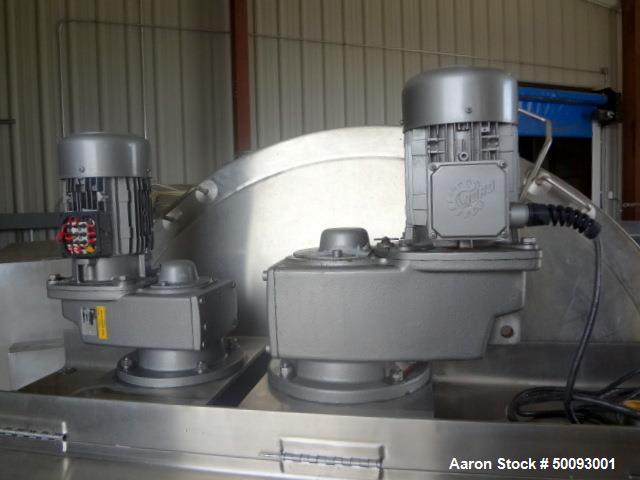 Used- LEE Industries Twin Agitated Kettle, Model 400 ETA, 400 Gallon