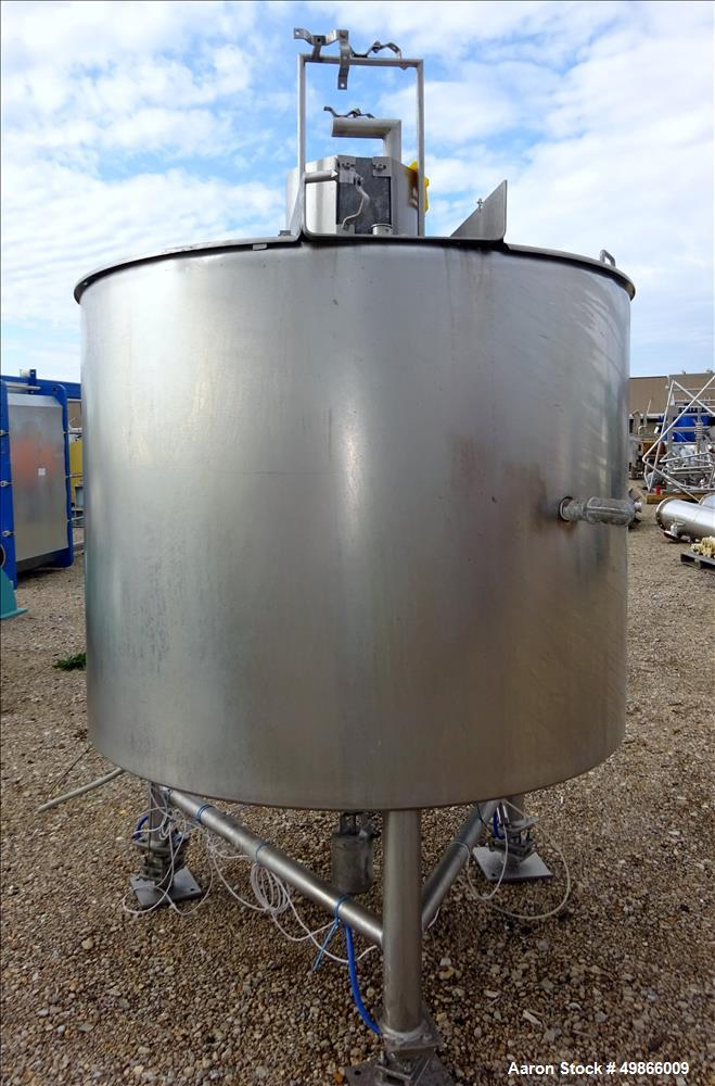Used- Lee Industries Stainless Steel Double Motion Kettle