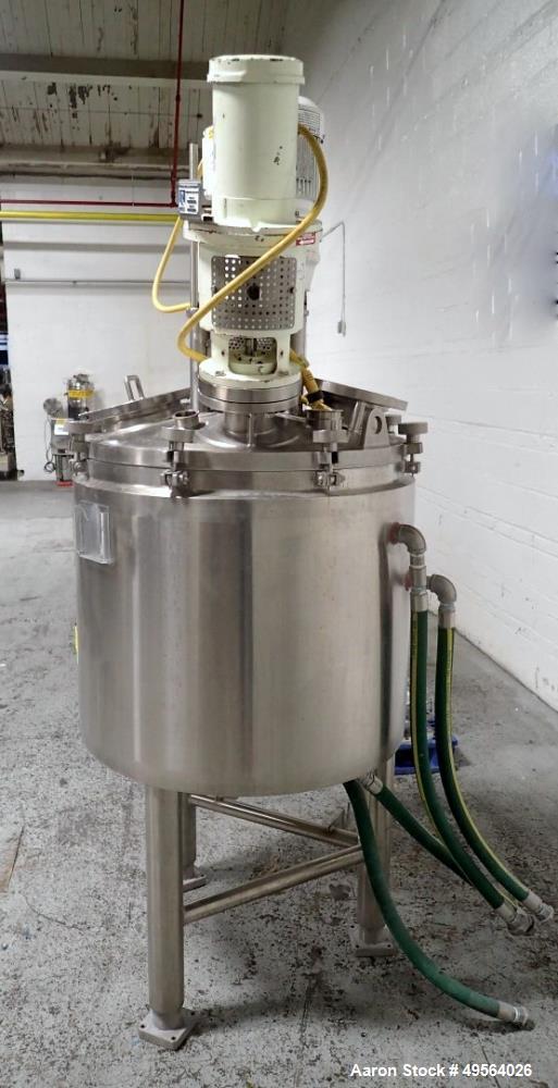 Used- Lee Industries Triple Motion Vacuum Kettle, 50 Gallon