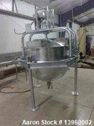 Used- Hobel 300 Gallon Scrape Surface Kettle