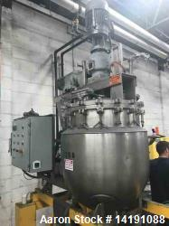 Used- JC Pardo and Gifford-Wood 30 Gallon Triple Motion Jacketed Vacuum Kettle