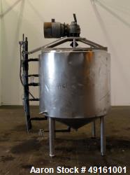 Used- Mix Kettle, Approximately 400 Gallon, 304 Stainless Steel