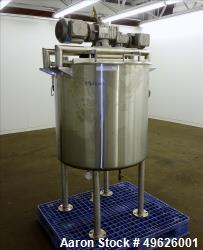 Used- Befco Kettle, 100 Gallon, 304 Stainless steel, Vertical.