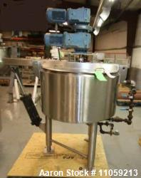 Used- Cherry Burrell Double Motion Jacket Mix Kettle. Approximate 50 Gallon