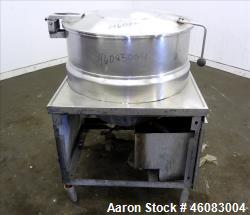 """Crown Food Service Equipment Kettle, 60 Gallons, Model DMS-60, 304 Stainless Steel. 30"""" Diameter x ..."""