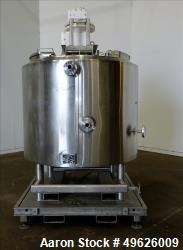 Used- Feldmeier Dual Agitated Kettle, Approximately 200 Gallon, 316 Stainless St
