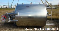 Used- Feldmeier Stainless Steel Processor / Kettle, Double Motion.