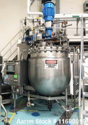 "Used- Greerco/Gifford Wood Triple Motion ""Agi-Mix"" Kettle/Reactor 1,000 Liter (2"