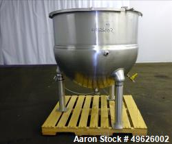 Used- Groen Kettle, Model EN-150, 150 gallon, 316 Stainless steel
