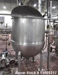 Used- Groen Jacketed Mix Kettle, 300 Gallon