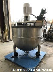 Used-Groen Steam Jacketed Mixer Kettle Tank
