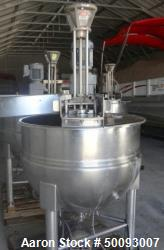 Used- Hamilton Twin Agitated Kettle, Model SA 100, 100 Gallon