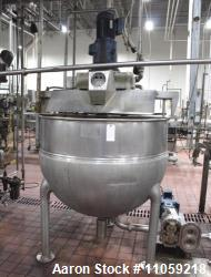 Used- Hamilton Jacketed Kettle, 250 Gallon