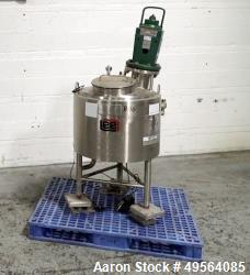 "Used- Lee Industries Kettle, 20 Gallon Style ""U"", Model 20GA UPBT, Stainless Ste"