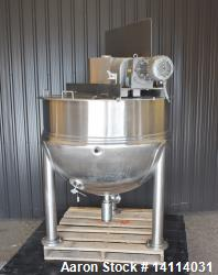 Used- Lee Industries Kettle, 250 Gallon, Model 250 D9MS